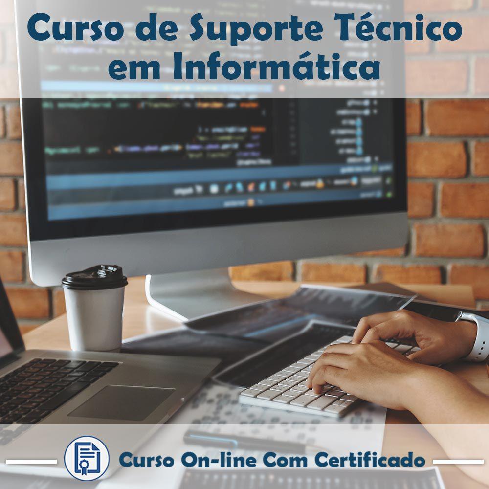 Curso Online de Suporte Técnico em Informática com Certificado