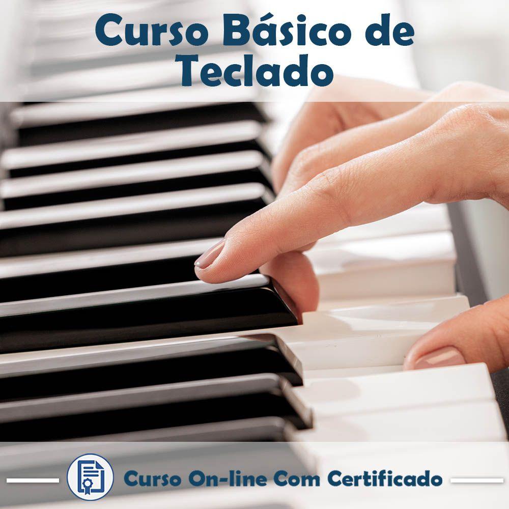 Curso Online Básico de Teclado com Certificado