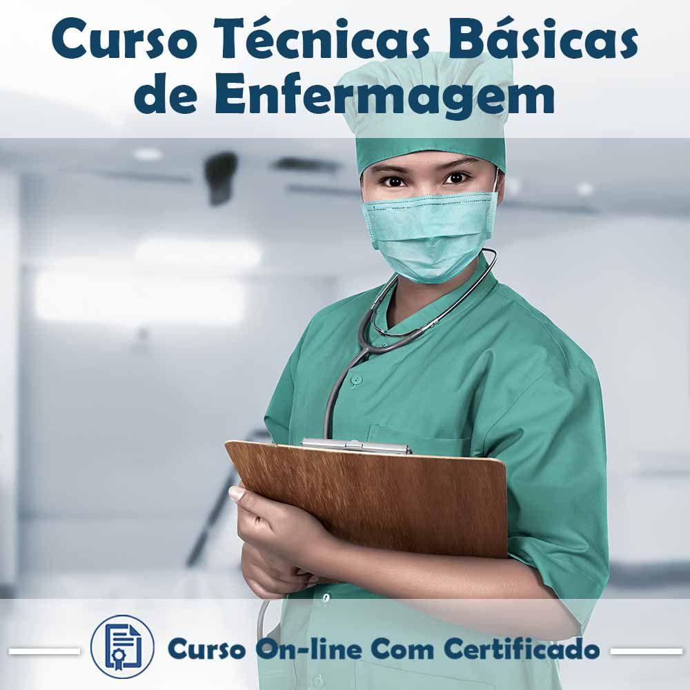 Curso Online de Técnicas Básicas de Enfermagem com Certificado