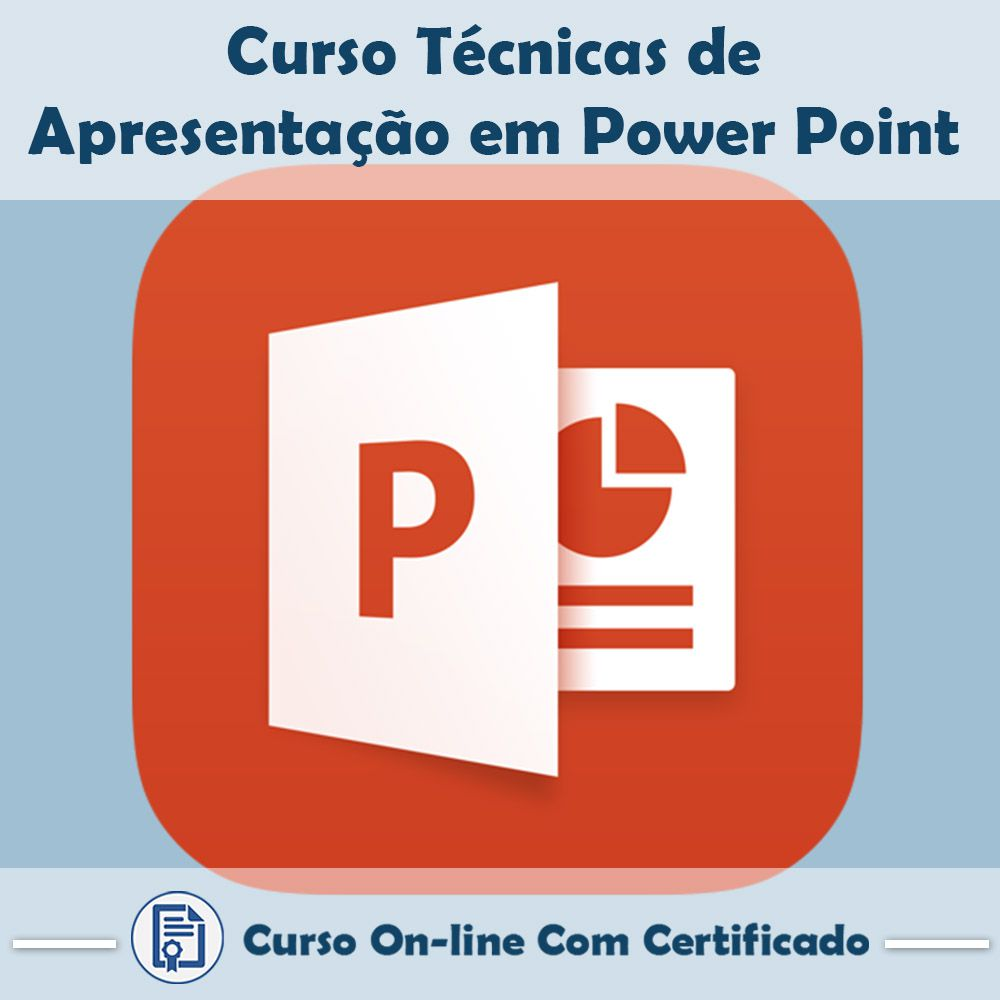 Curso Online de Técnicas de Apresentações em Power Point com Certificado  - Aprova Cursos