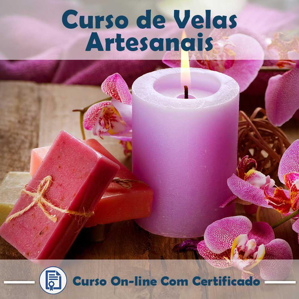 Curso Online de Velas Artesanais com Certificado  - Aprova Cursos