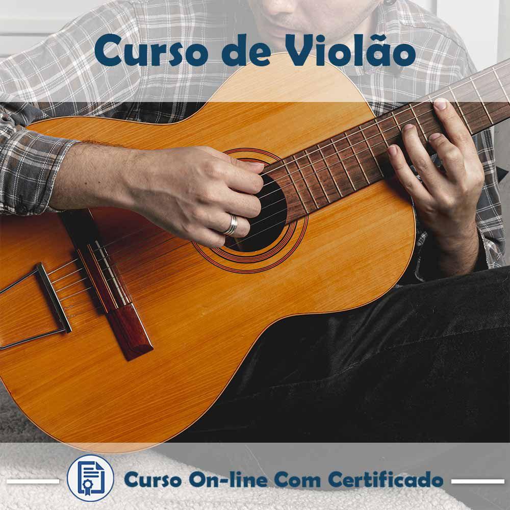 Curso Online de Violão com Certificado