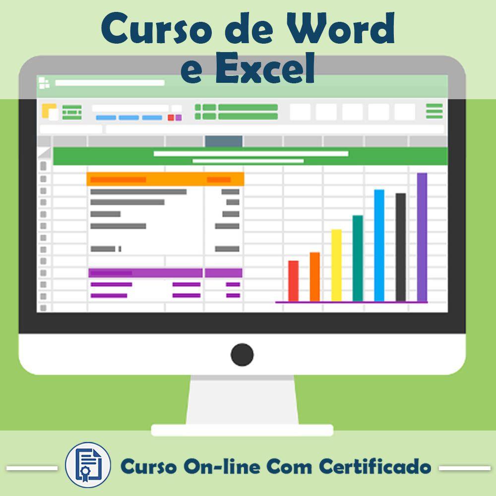 Curso online de Word e Excel + Certificado  - Aprova Cursos
