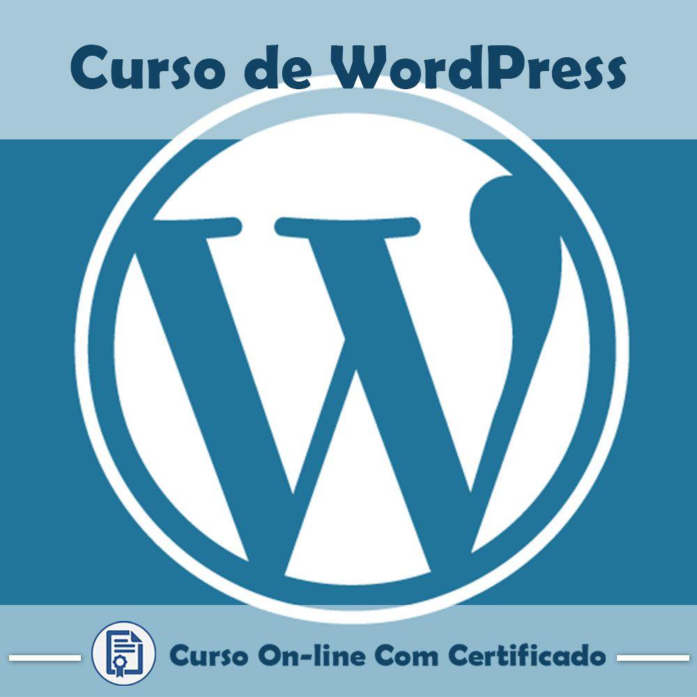 Curso Online de WordPress com Certificado  - Aprova Cursos