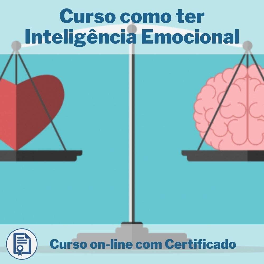 Curso Online em videoaula de como ter Inteligência Emocional
