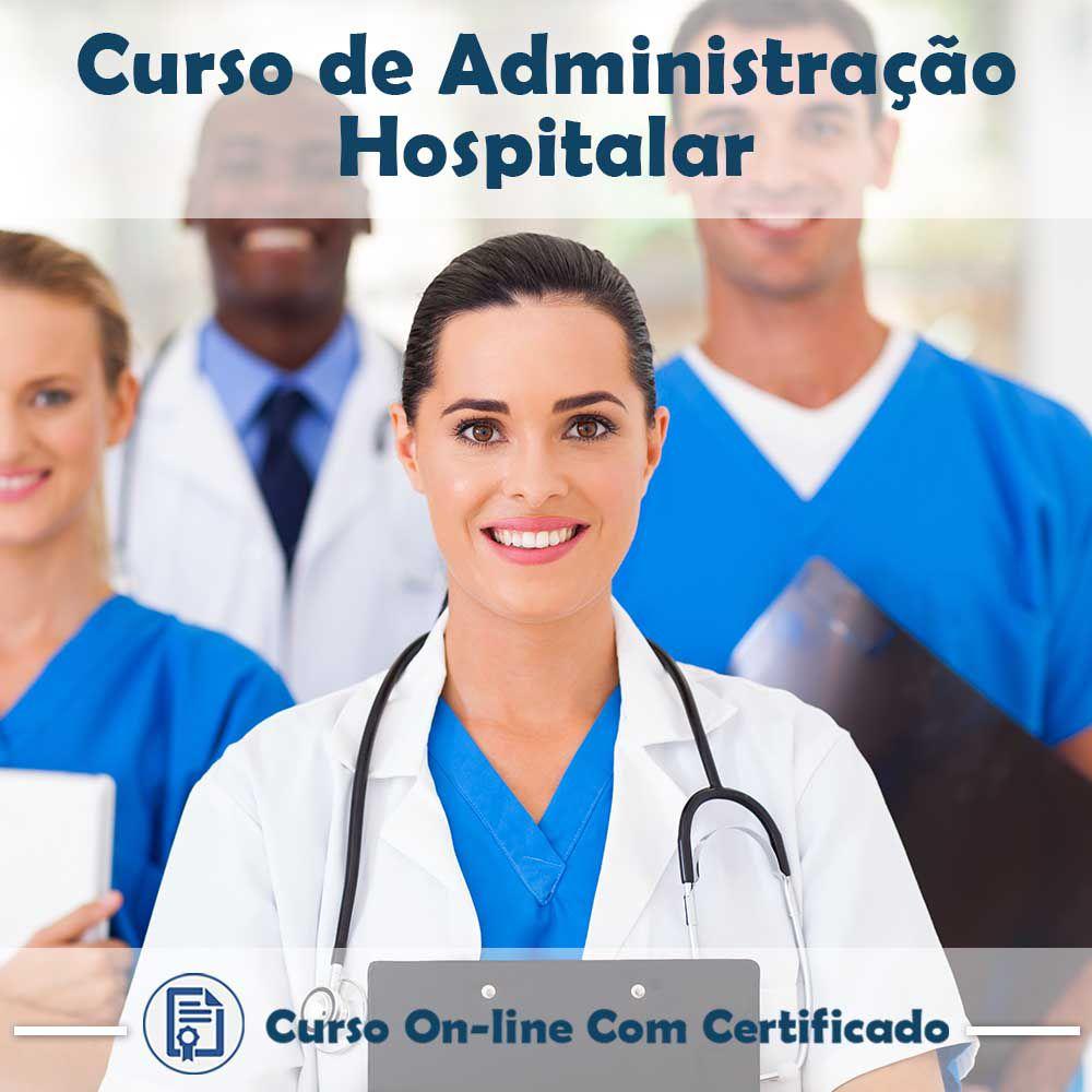 Curso online em videoaula de Administração Hospitalar com Certificado