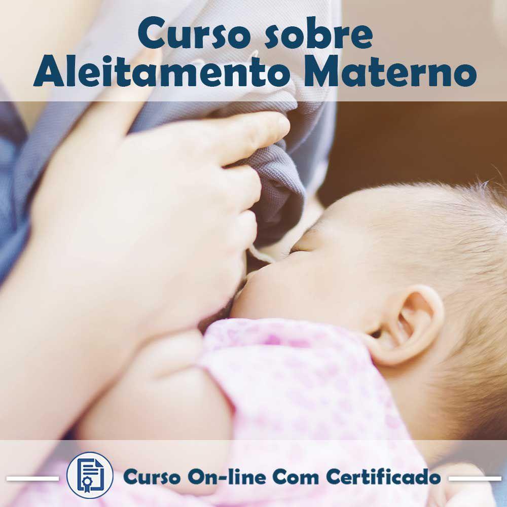 Curso online em videoaula de Aleitamento Materno com Certificado