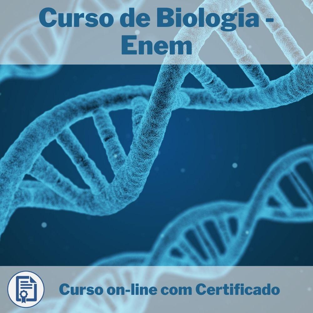 Curso Online em videoaula de Biologia - Enem com Certificado