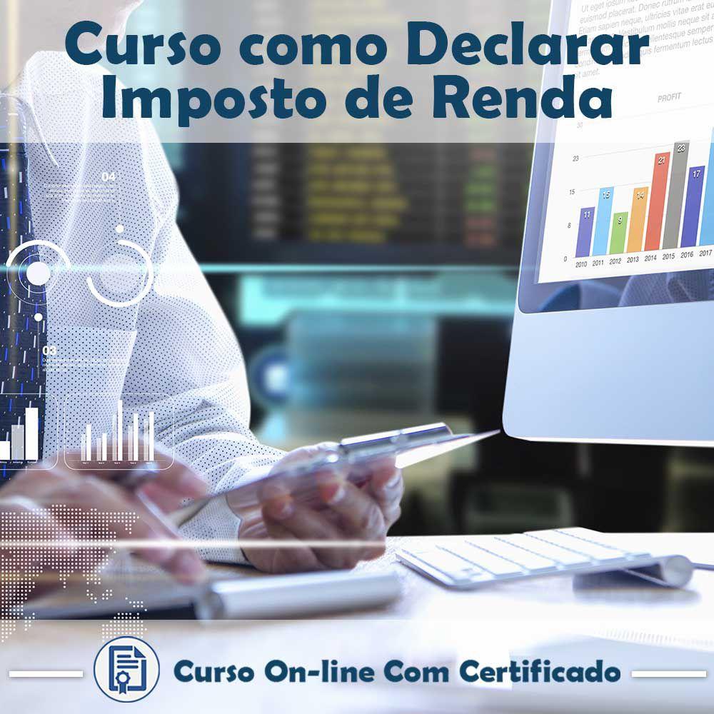 Curso online em videoaula de Como Declarar Imposto de Renda com Certificado  - Aprova Cursos