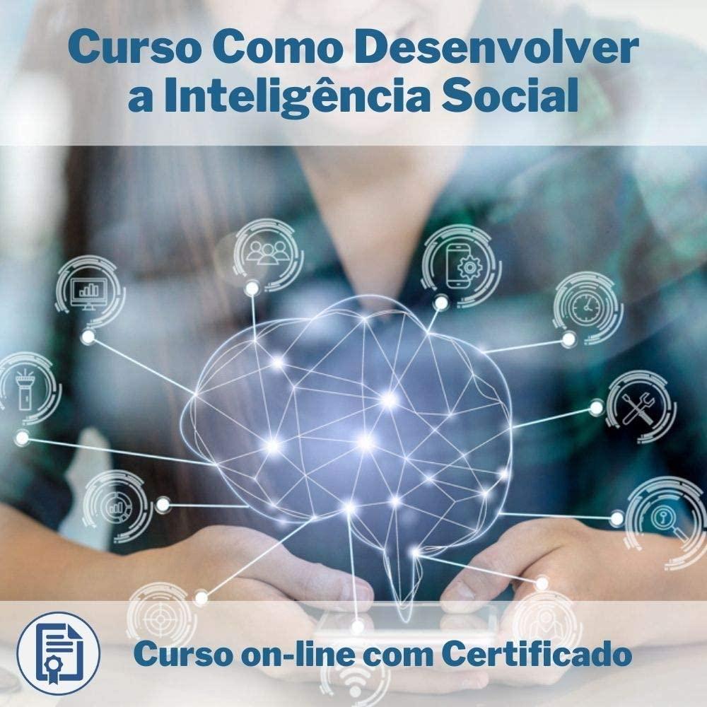 Curso Online em videoaula de Como Desenvolver a Inteligência Social com Certificado
