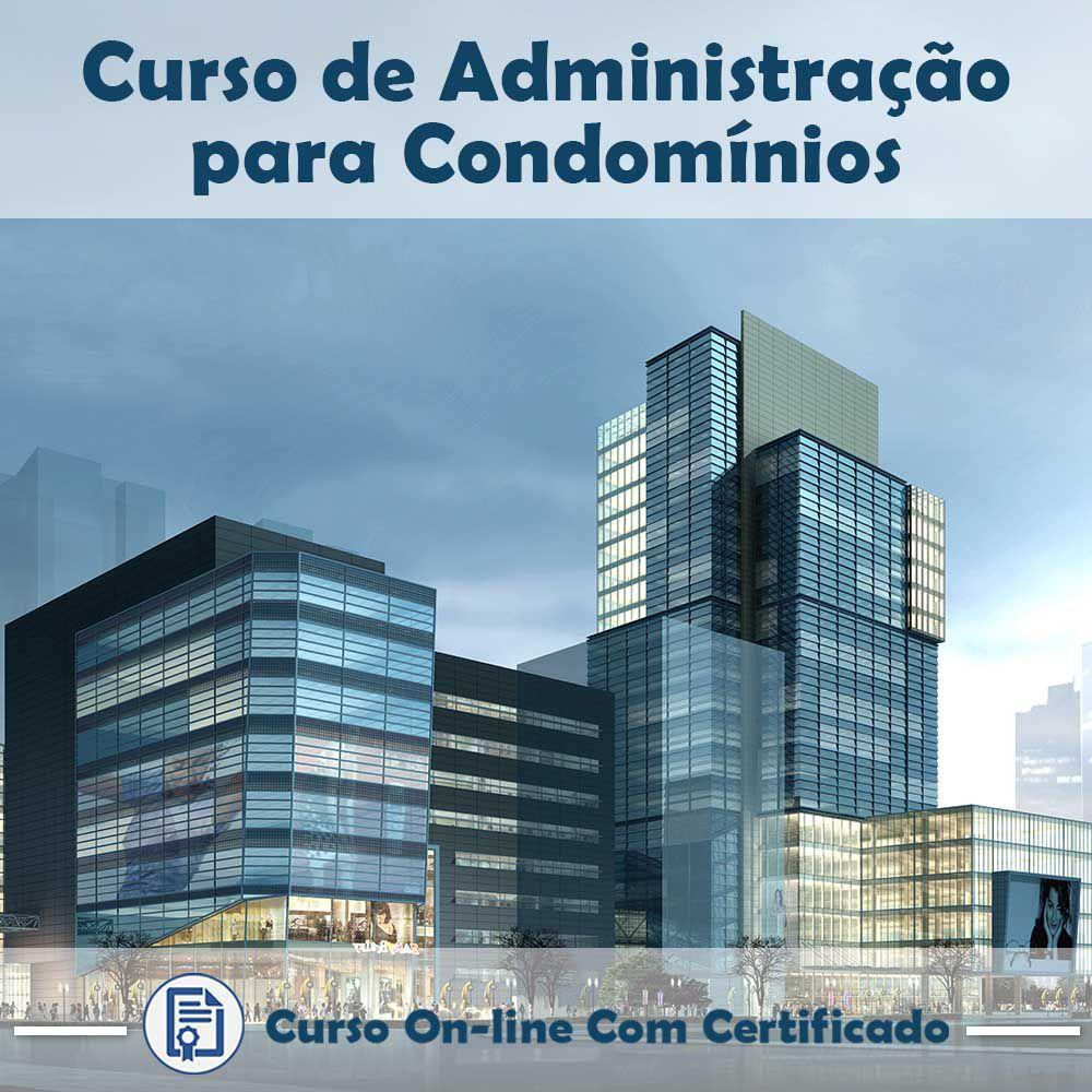 Curso online em videoaula de como funciona Administração para Condomínios com Certificado