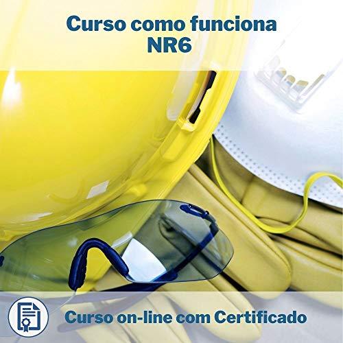 Curso Online em videoaula de como funciona NR6 com Certificado