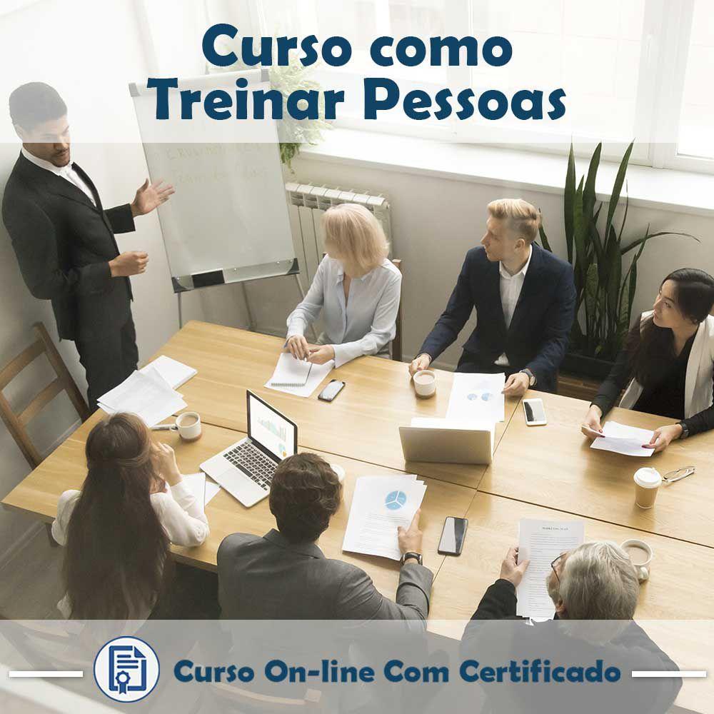 Curso online em videoaula de Como Treinar Pessoas com certificado