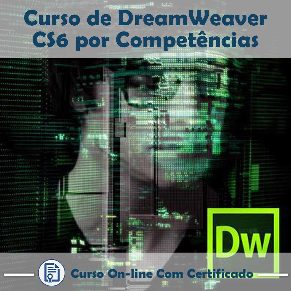 Curso online em videoaula de DreamWeaver CS6 com Certificado  - Aprova Cursos