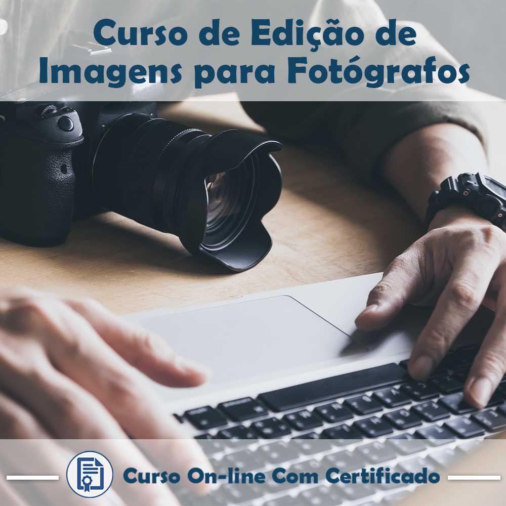 Curso Online em videoaula de Edição de Imagens para Fotógrafos com Certificado