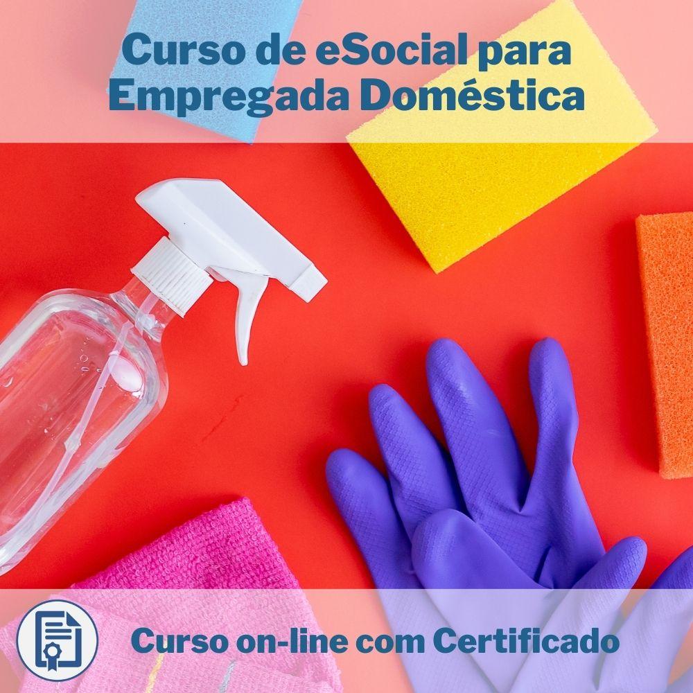 Curso Online em videoaula de eSocial para Empregada Doméstica com Certificado