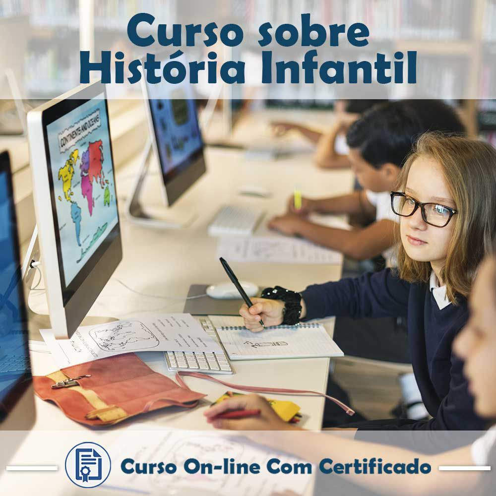 Curso online em videoaula de História - Infantil com Certificado  - Aprova Cursos