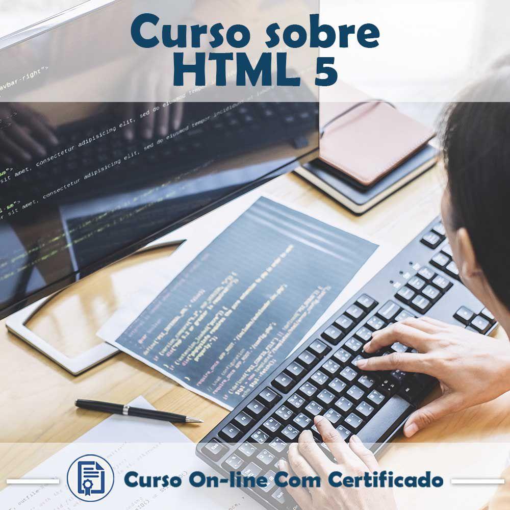 Curso online em videoaula de HTML 5 com certificado