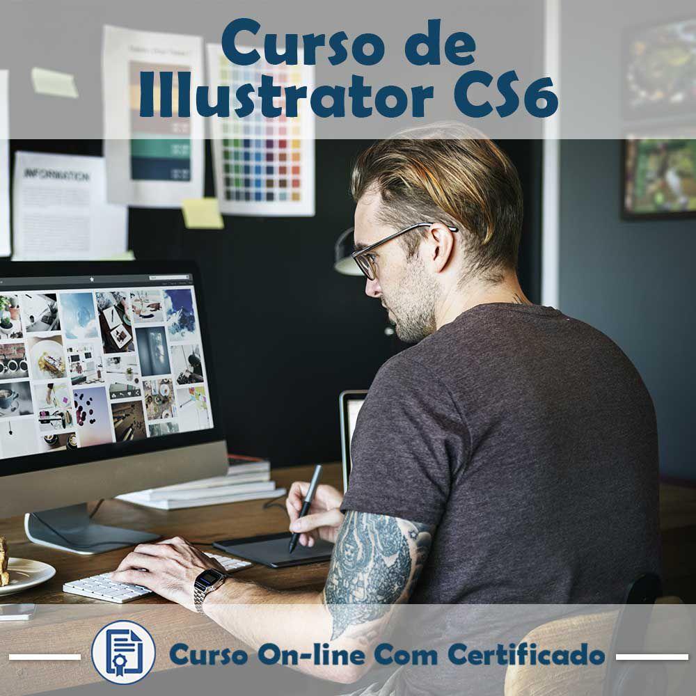 Curso Online em videoaula de Illustrator CS6 com Certificado