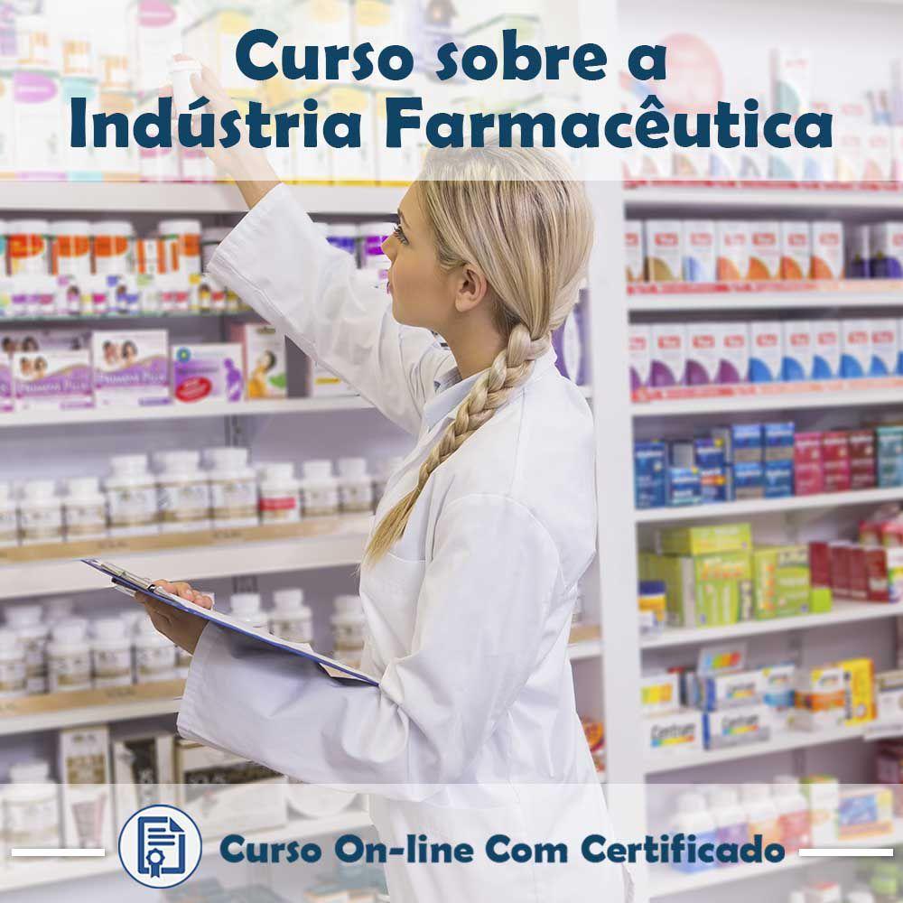 Curso Online em videoaula de Indústria Farmacêutica com Certificado  - Aprova Cursos