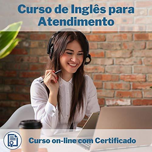 Curso Online em videoaula de Inglês para Atendimento com Certificado