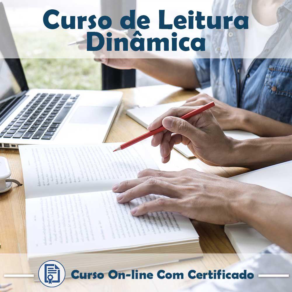 Curso Online em videoaula de Leitura Dinâmica com Certificado  - Aprova Cursos