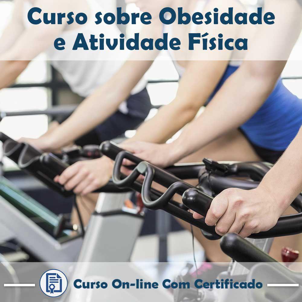 Curso online em videoaula de Obesidade e Atividade Física com Certificado  - Aprova Cursos