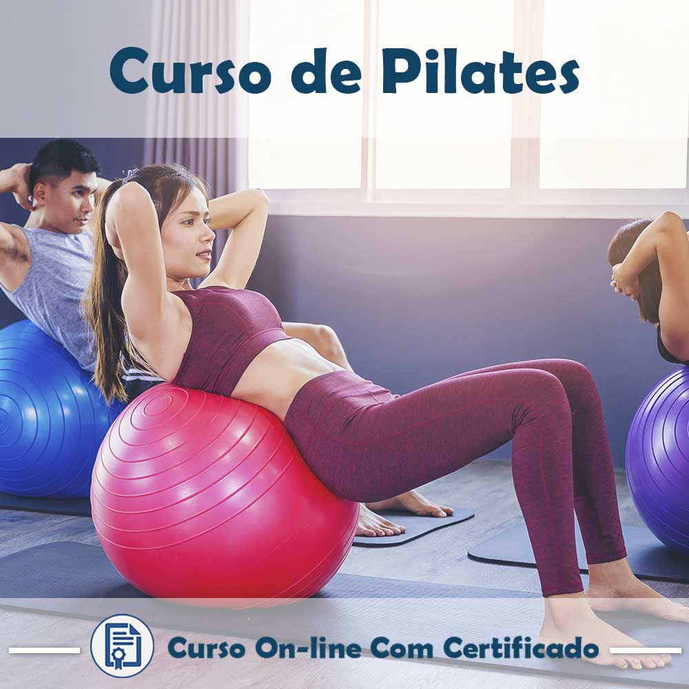 Curso online em videoaula de Pilates com Certificado  - Aprova Cursos