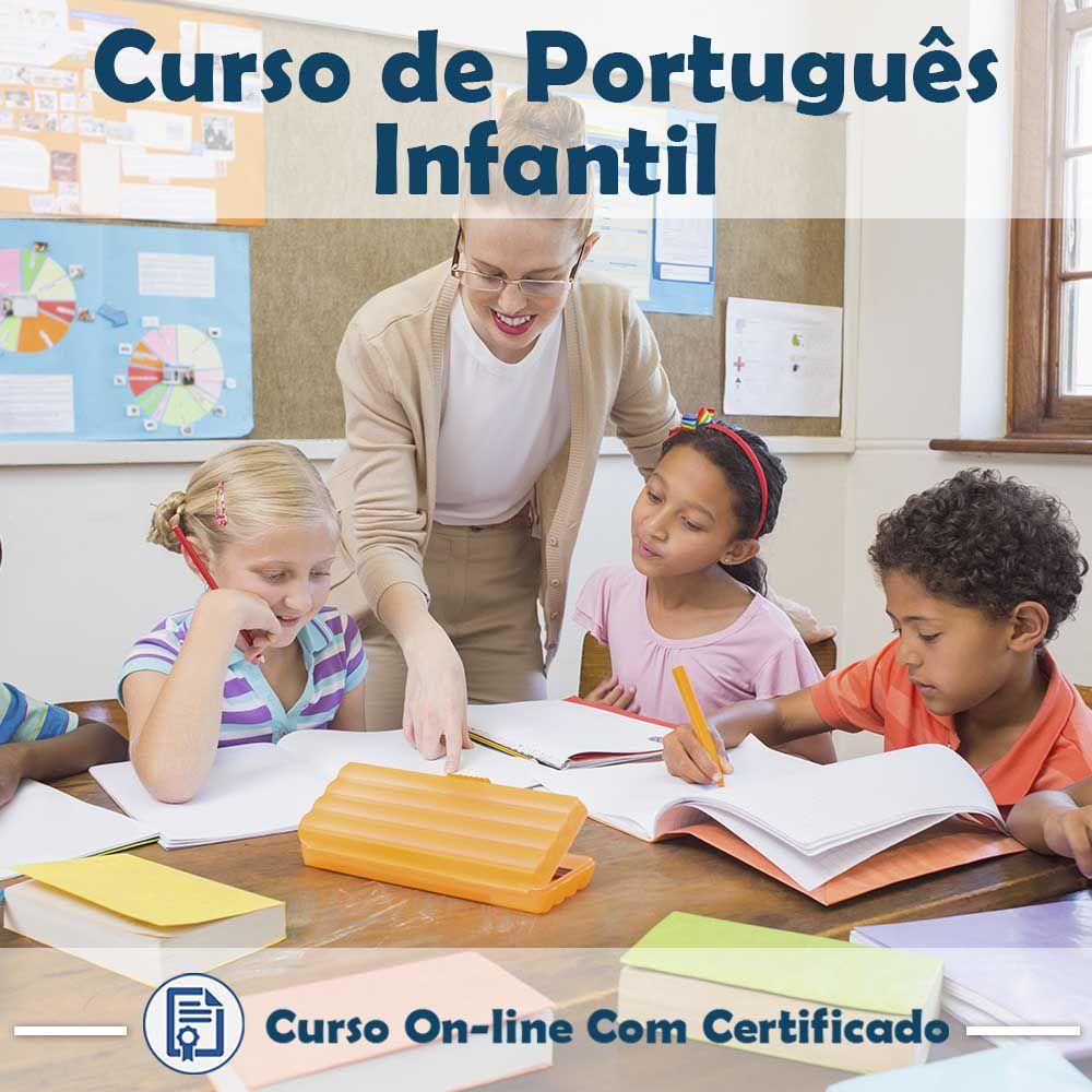 Curso online em videoaula de Português - Infantil com Certificado
