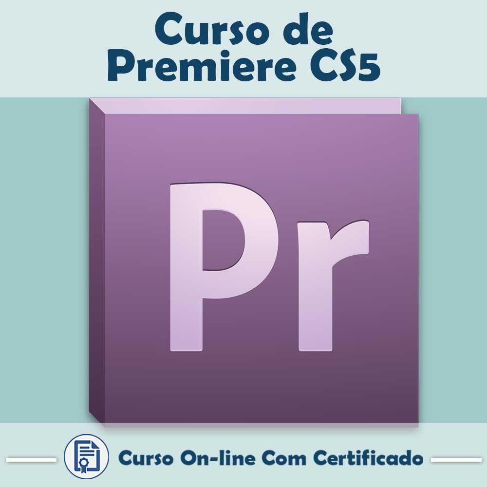 Curso Online em videoaula de Premiere CS5 com Certificado
