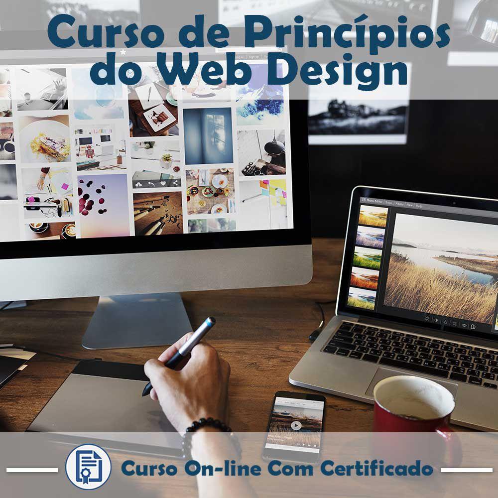Curso Online em videoaula de Princípios do Web Design com Certificado