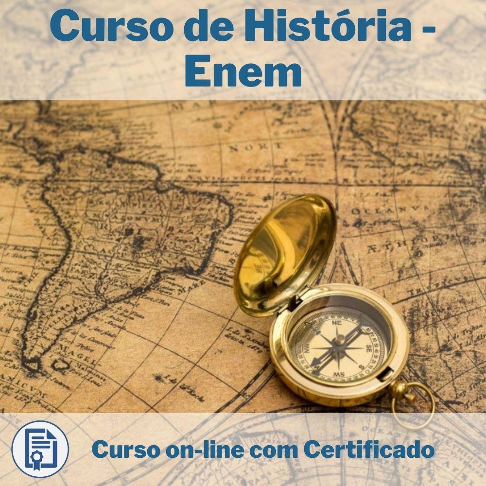 Curso Online em videoaula de História - Enem com Certificado