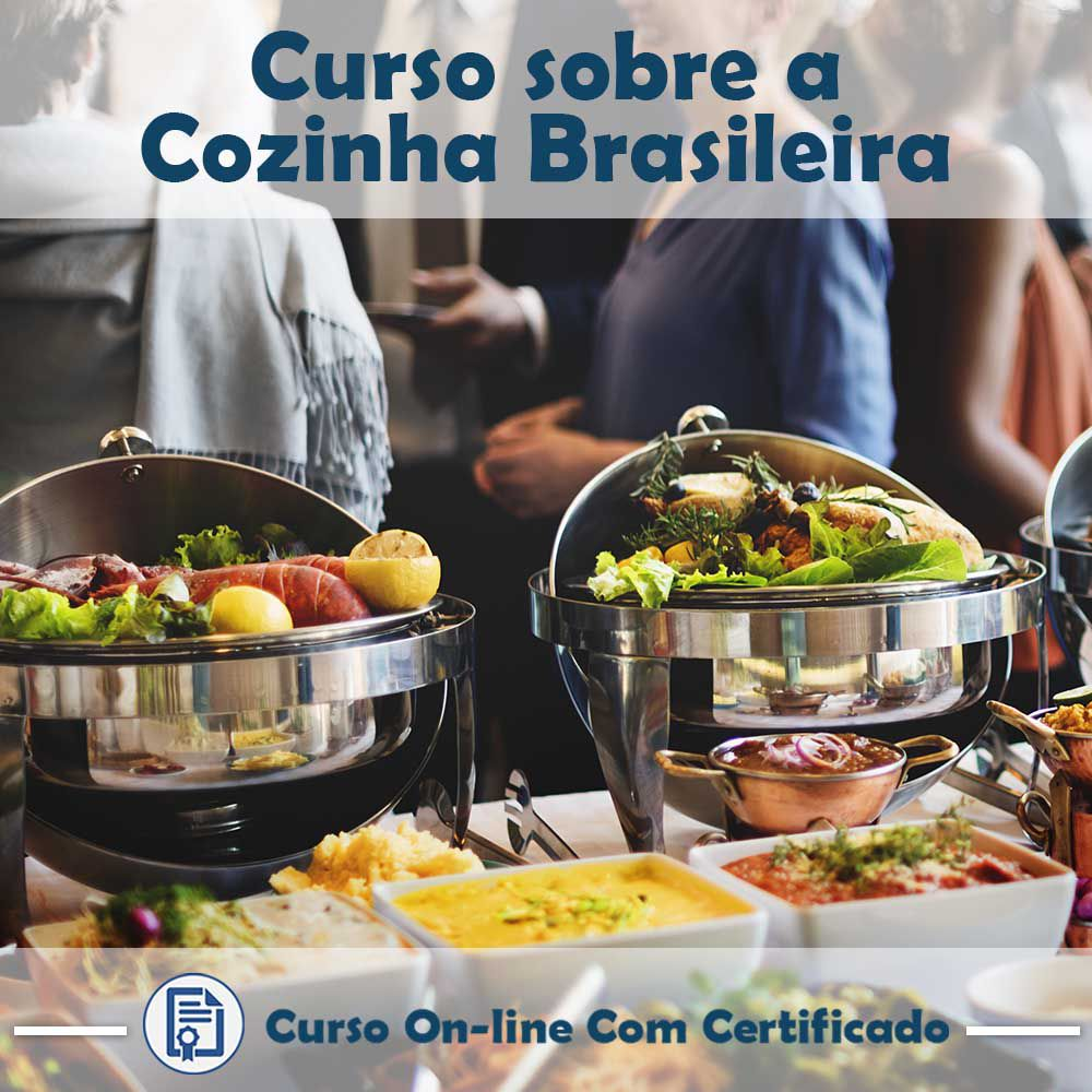 Curso online em videoaula sobre a Cozinha Brasileira com Certificado  - Aprova Cursos