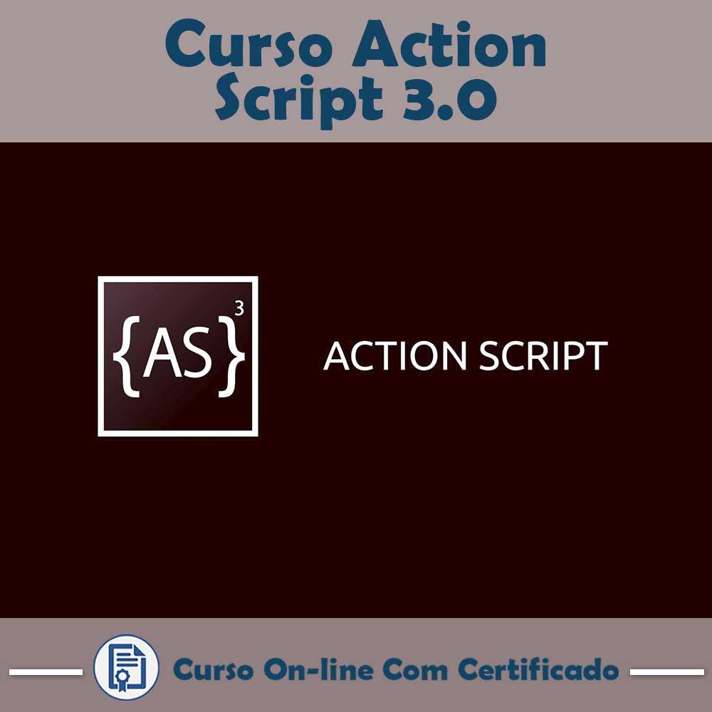 Curso online em videoaula sobre Actionscript 3.0 com Certificado