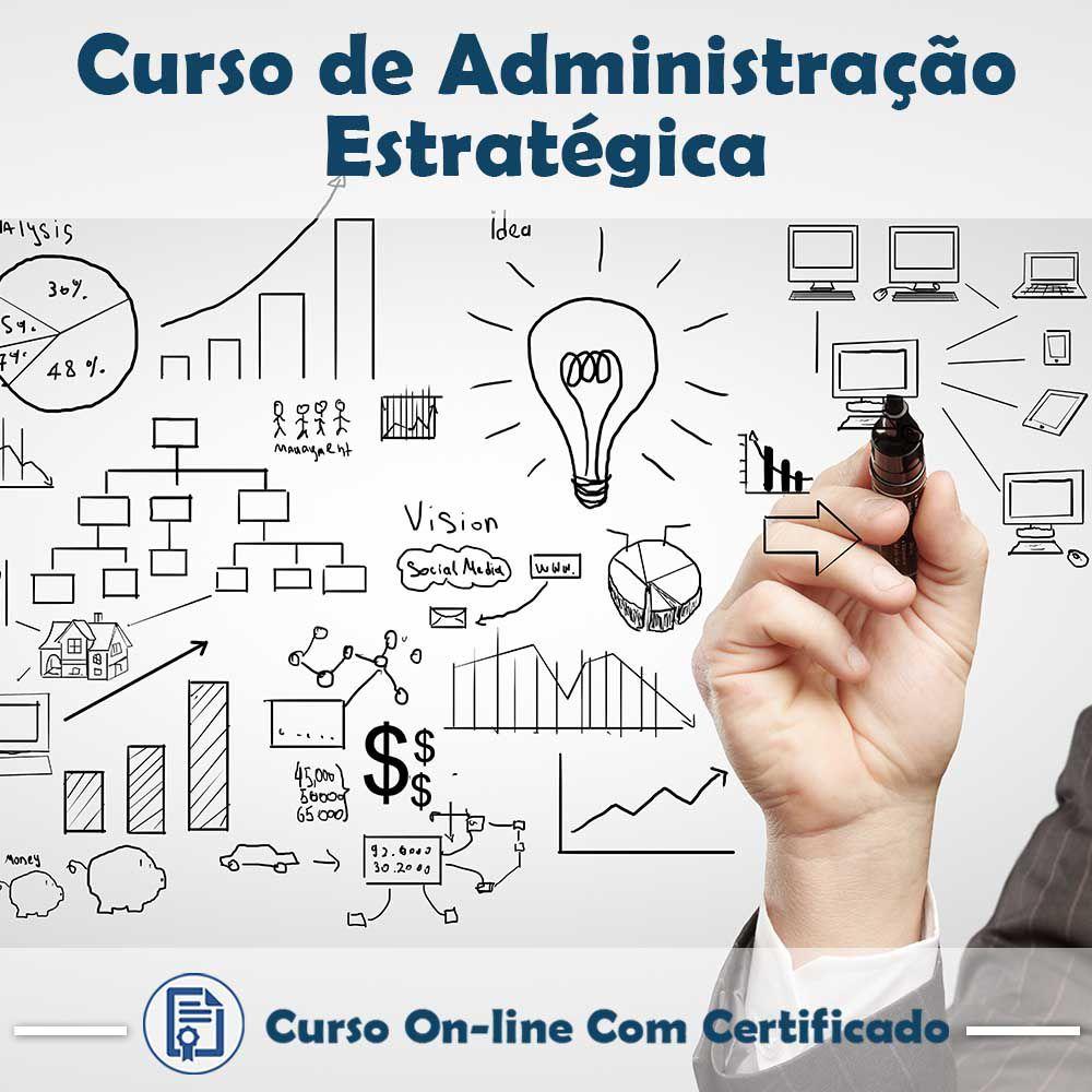Curso online em videoaula sobre Administração Estratégica com Certificado