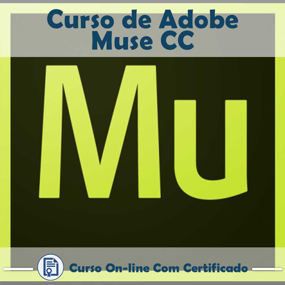 Curso online em videoaula sobre Adobe Muse CC com Certificado  - Aprova Cursos