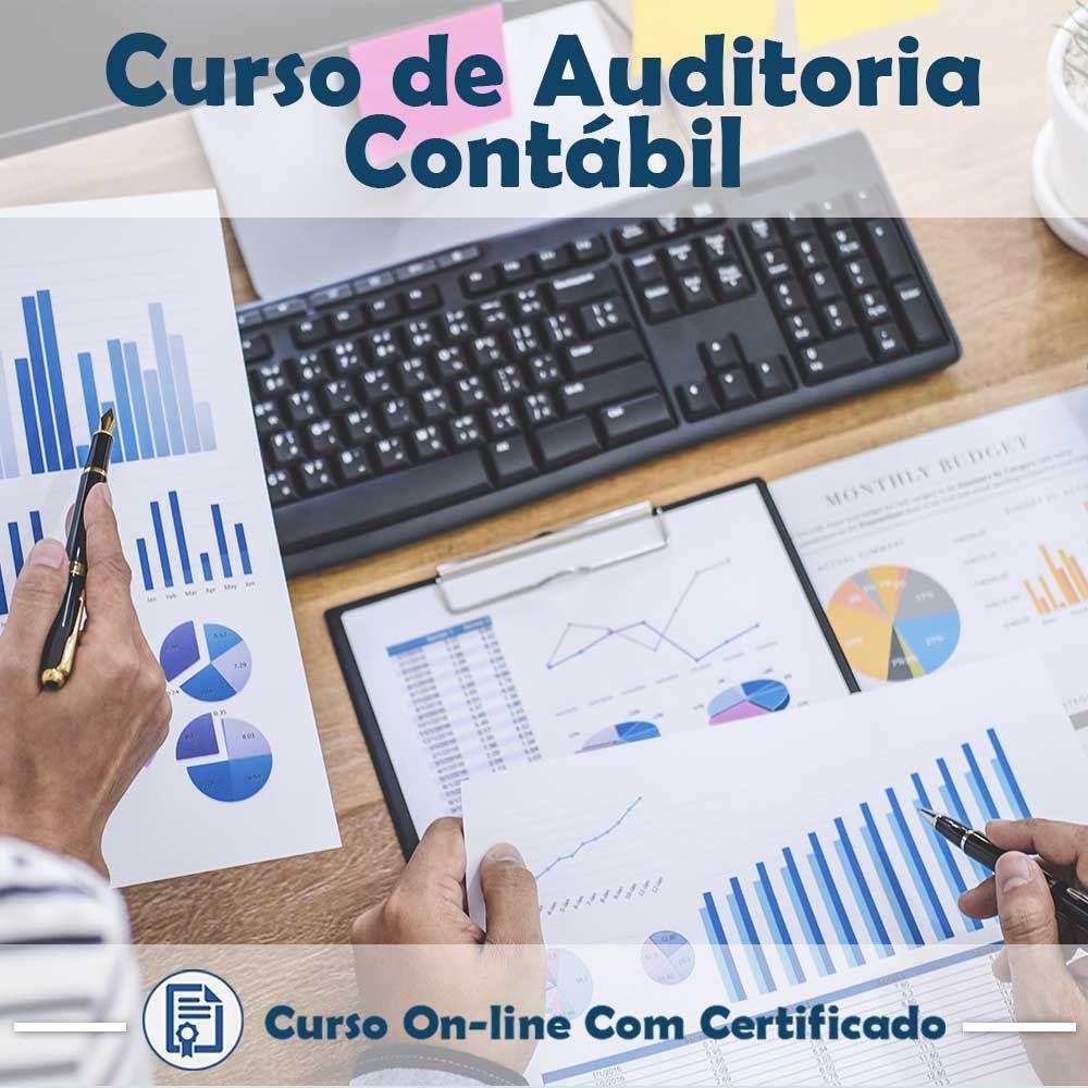 Curso online em videoaula sobre Auditoria Contábil com Certificado