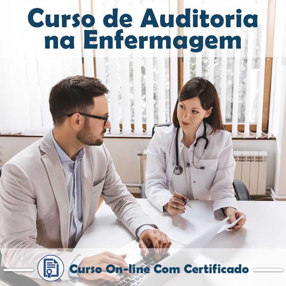 curso online em videoaula sobre Auditoria na Enfermagem com Certificado  - Aprova Cursos