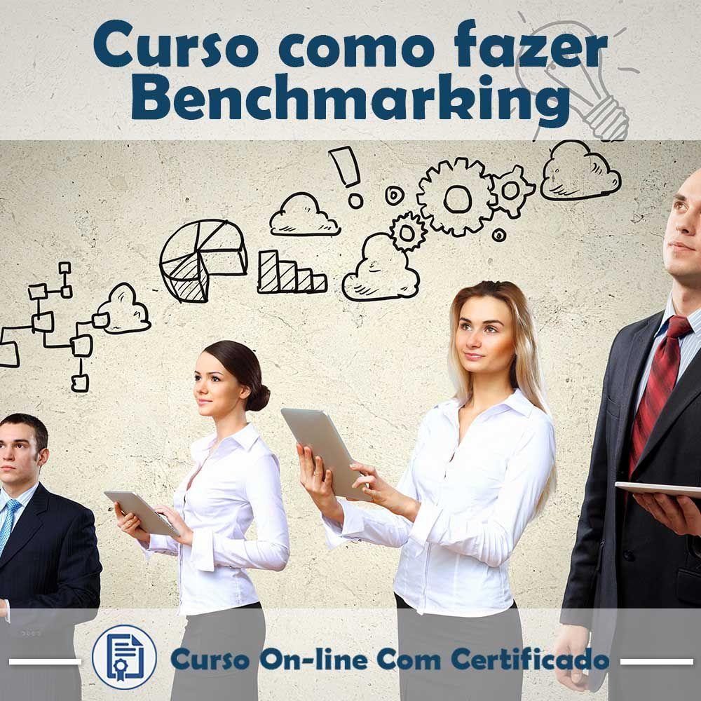 Curso online em videoaula sobre Benchmarking com Certificado