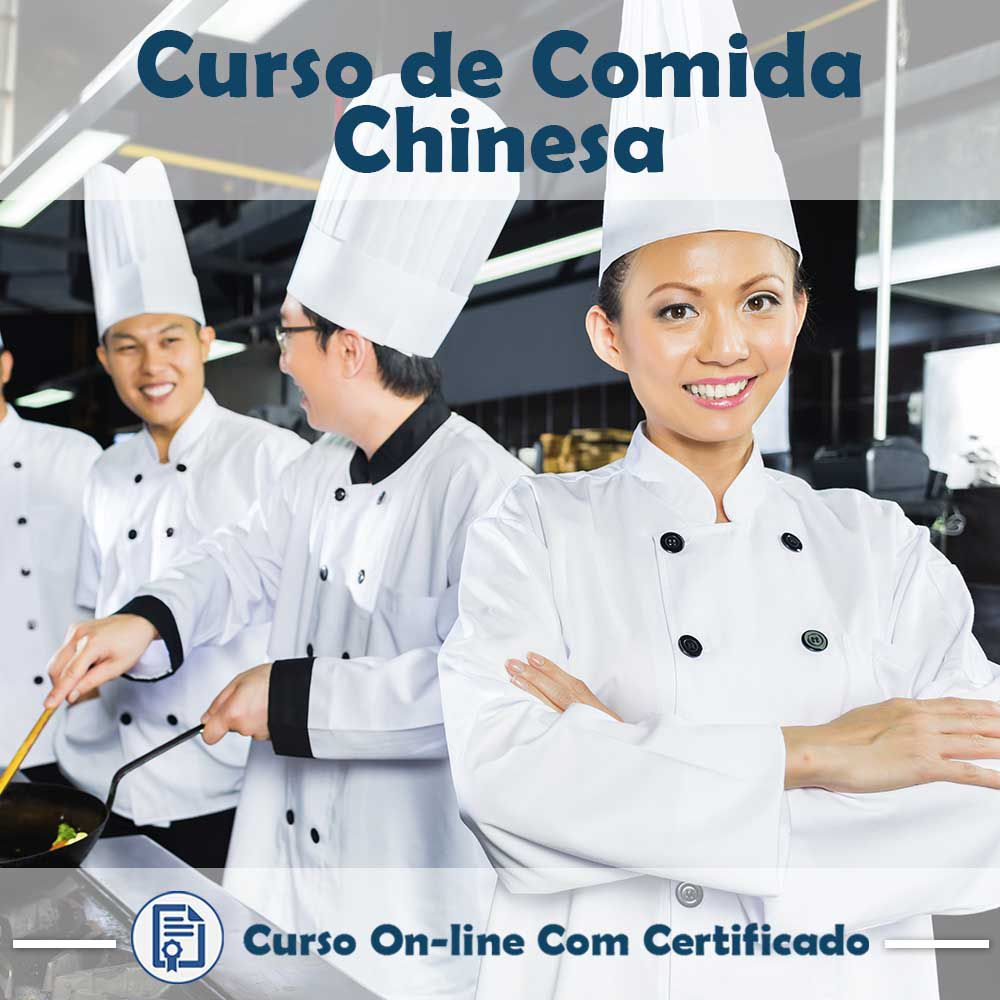 Curso online em videoaula sobre Comida Chinesa com Certificado