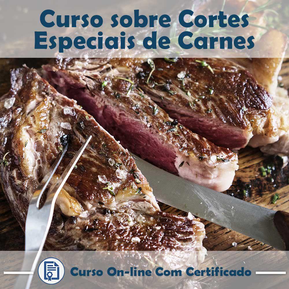Curso online em videoaula sobre Cortes Especiais de Carnes com Certificado