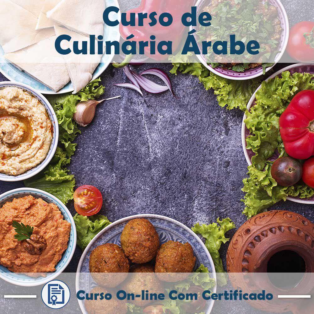 Curso online em videoaula sobre Culinária Árabe com Certificado