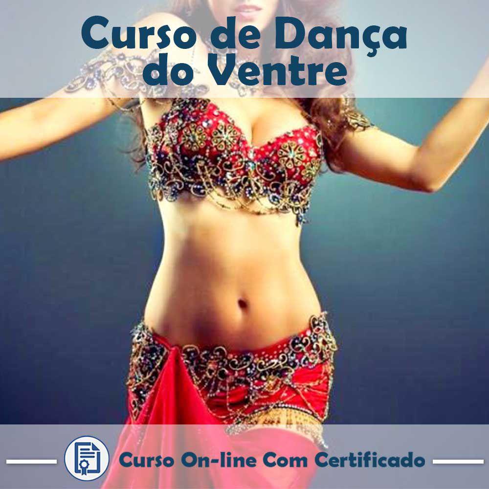 Curso online em videoaula sobre Dança do Ventre com Certificado