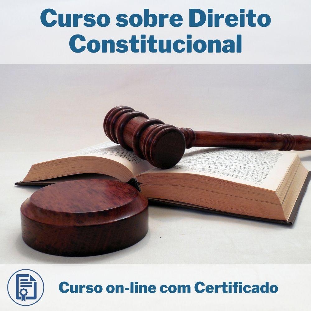 Curso Online em videoaula sobre Direito Constitucional com Certificado