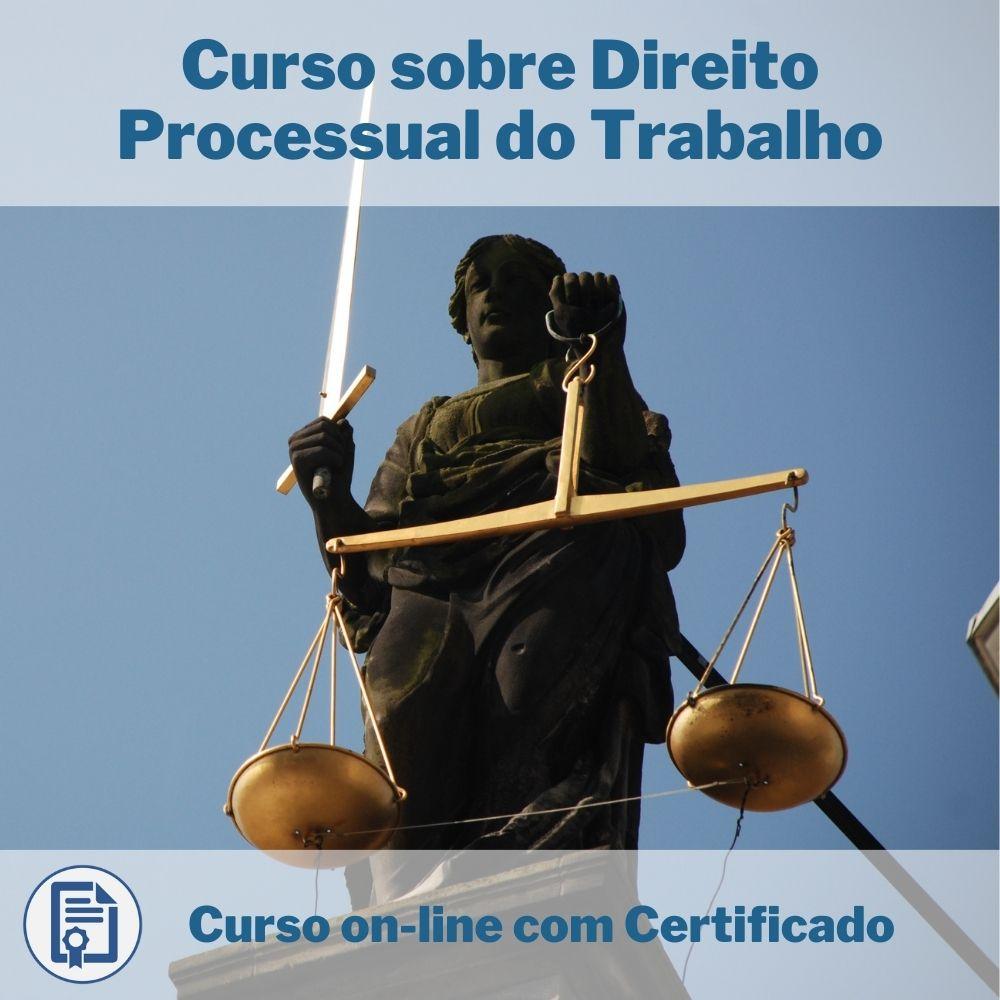 Curso Online em videoaula sobre Direito Processual do Trabalho com Certificado