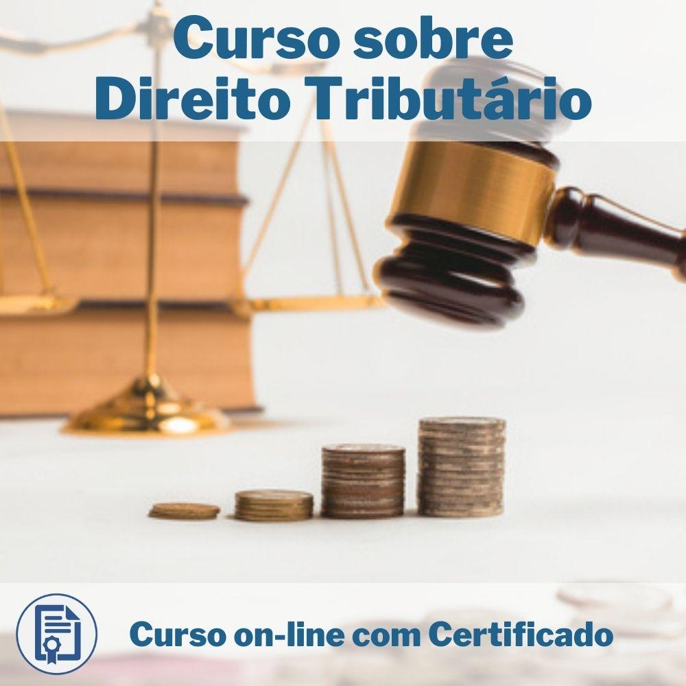 Curso Online em videoaula sobre Direito Tributário com Certificado