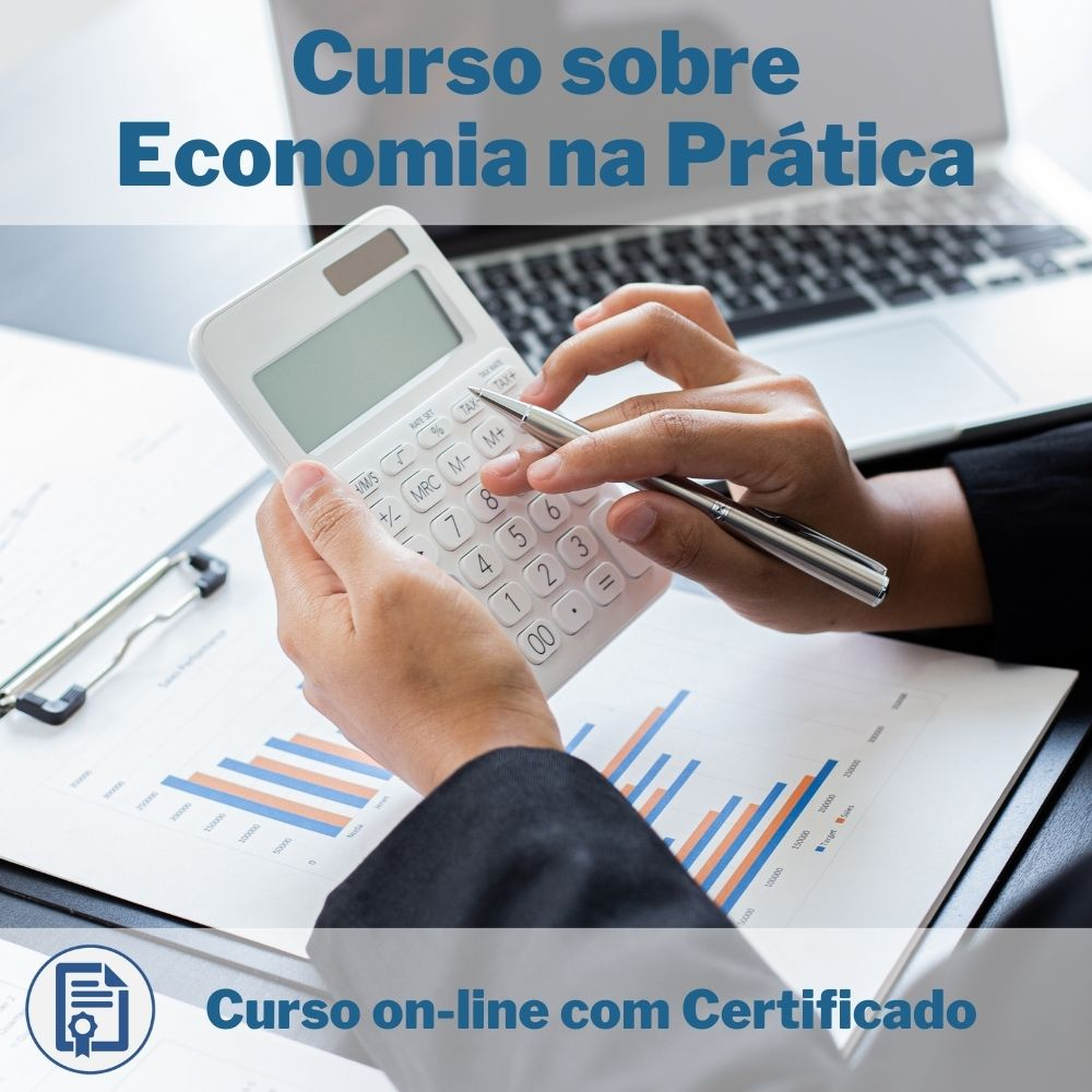 Curso Online em videoaula sobre Economia na Prática com Certificado