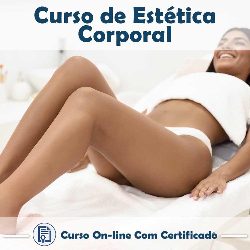 Curso online em videoaula sobre Estética Corporal com Certificado