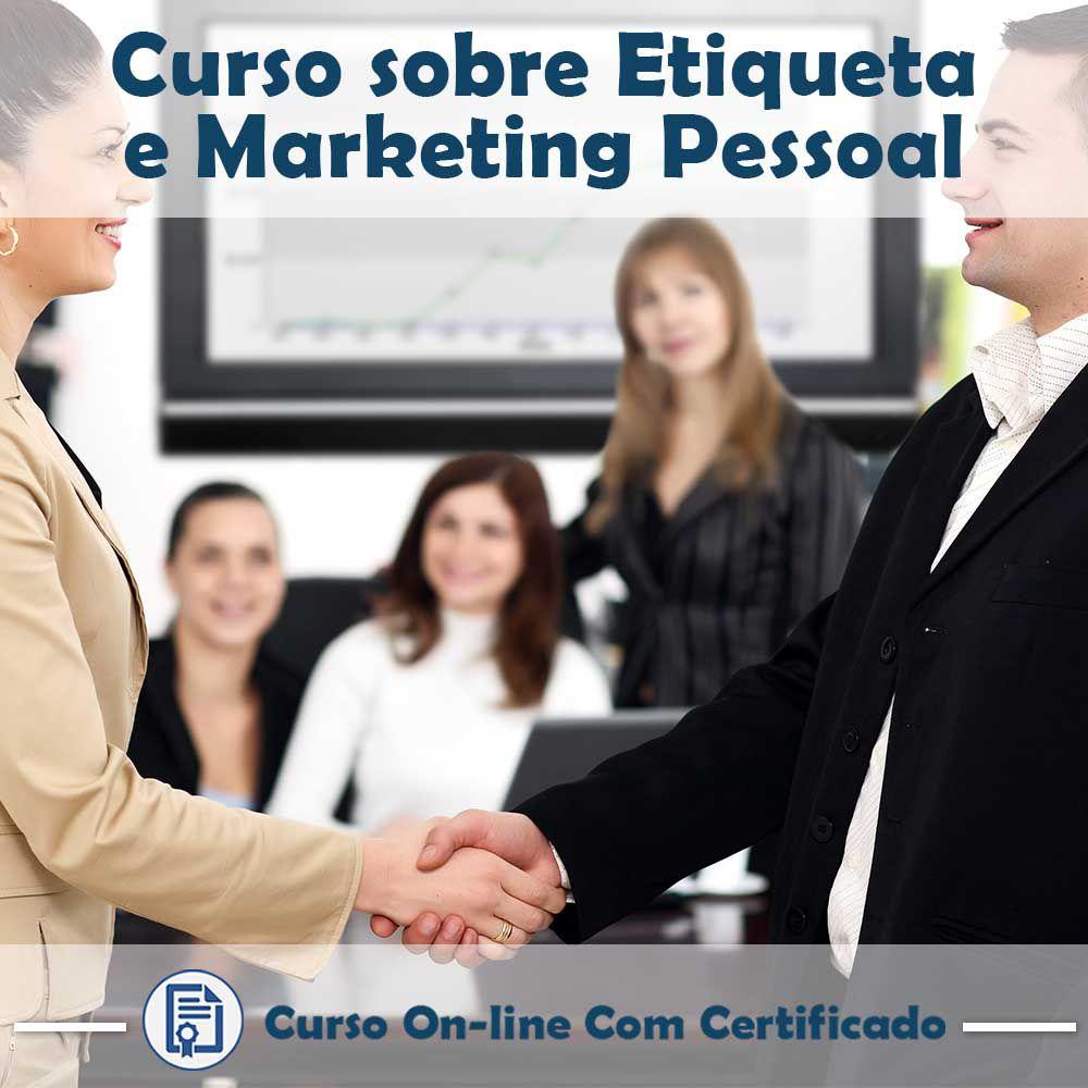 Curso online em videoaula sobre Etiqueta e Marketing Pessoal com Certificado  - Aprova Cursos