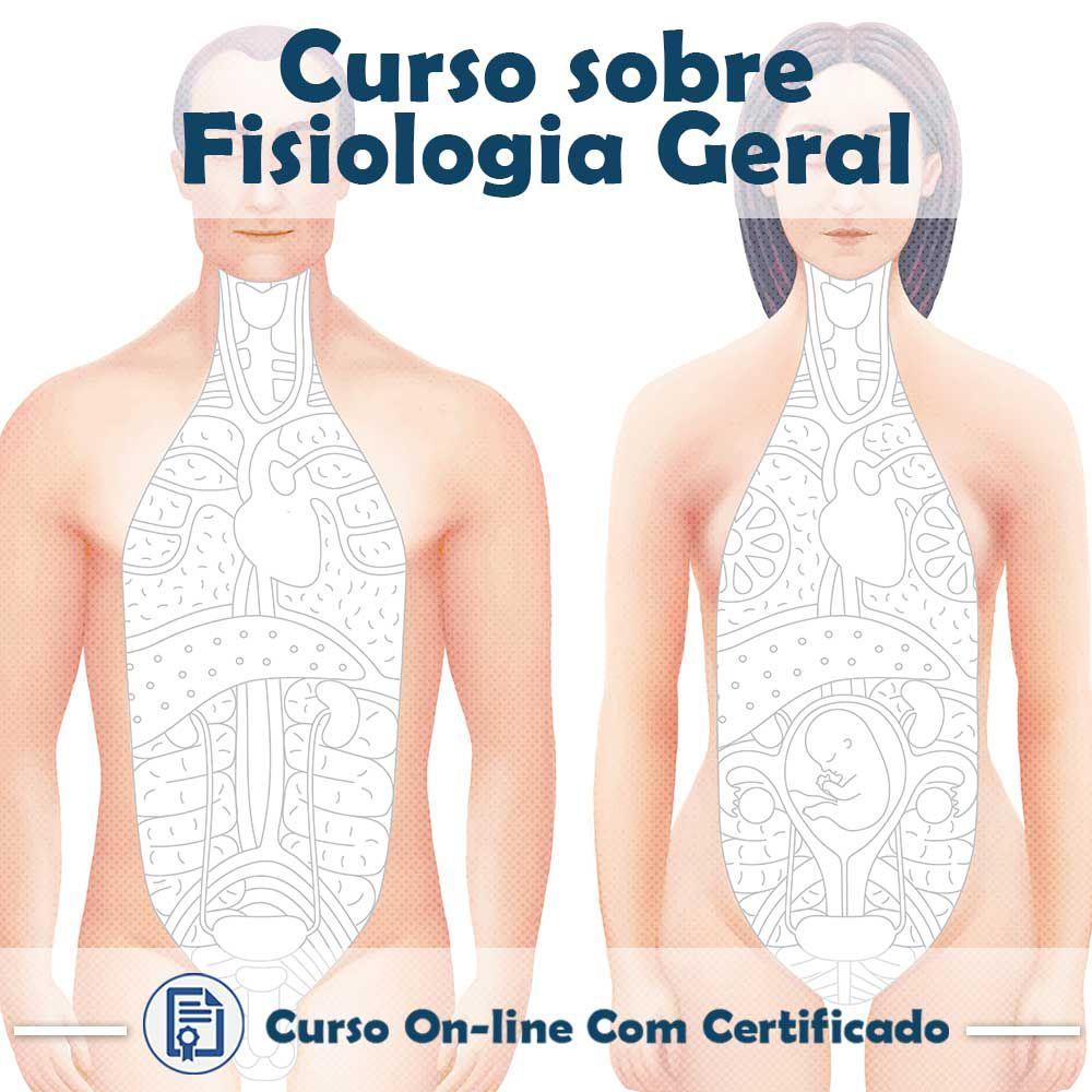Curso online em videoaula sobre Fisiologia Geral com Certificado